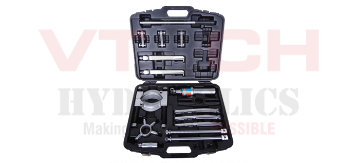 Hydraulic puller tool set 8-15 tons